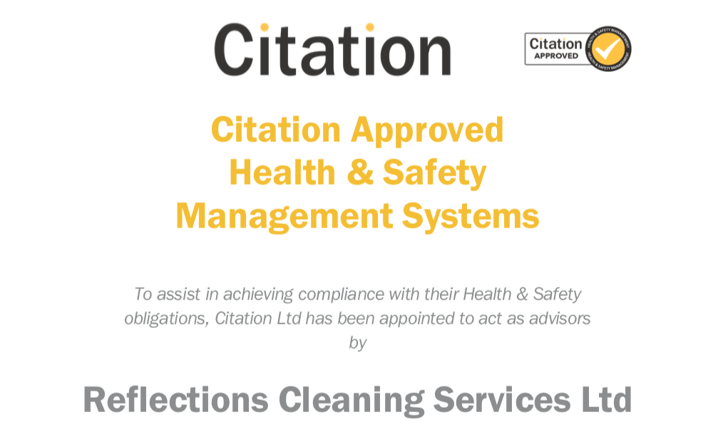 citation approved health and safety